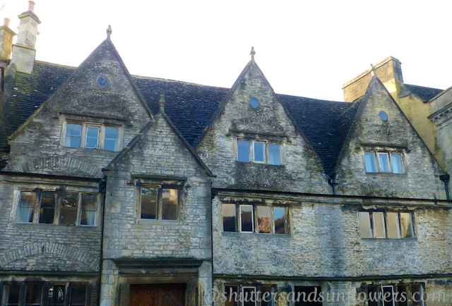 The architecture of Tetbury in the Cotswolds, England
