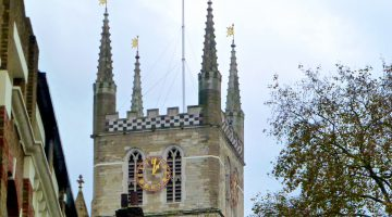 Southwark Cathedral, exploring Charles Dickins' London