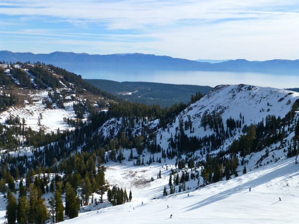 Ski Slopes of North Lake Tahoe, California
