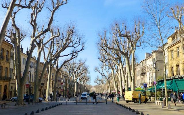 Cours de Mirabeau, Aix-en-Provence