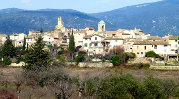Lourmarin in February, Luberon, Provence, France