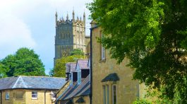 The church in Chipping Campden, The Cotswolds, England
