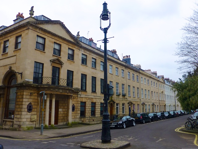 Caledonia Place, Clifton, Bristol, England