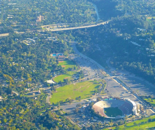 'The Rose Bowl' in Pasadena, Los Angeles County, California