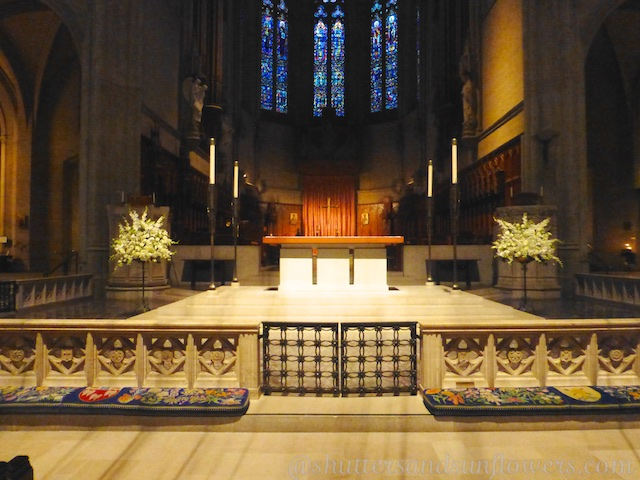 Altar at Grace Cathedral, San Francisco