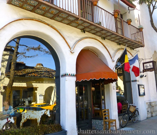 La Bicylette restaurant, Carmel, California