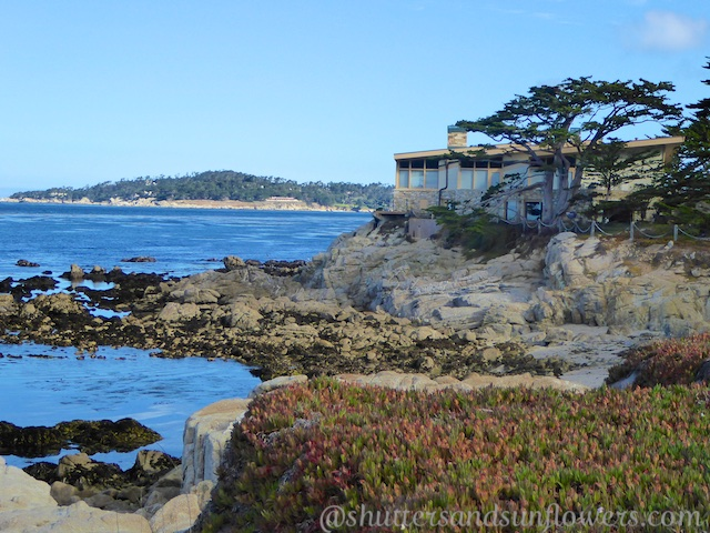 Ocean front property on Scenic Drive Carmel, California