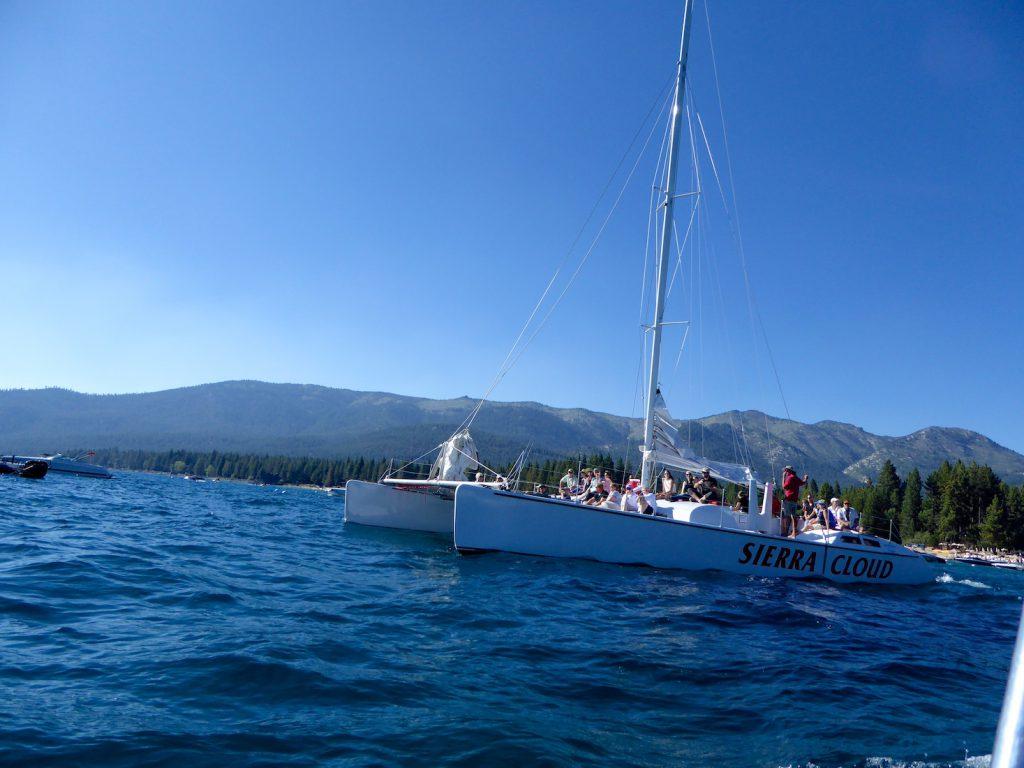 'Sierra Cloud' from the Hyatt Hotel, Incline, Lake Tahoe