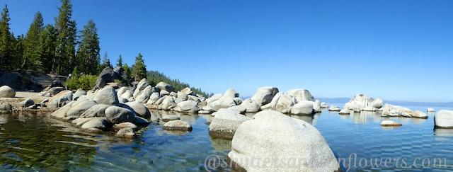 Beautiful East Shore of Lake Tahoe, California