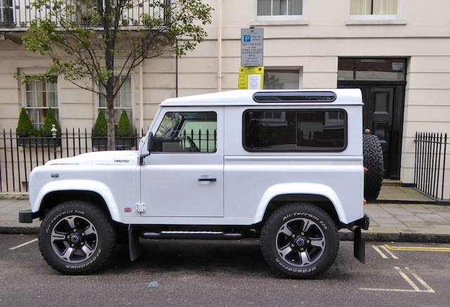 Landrover Defender, Mayfair, London, England