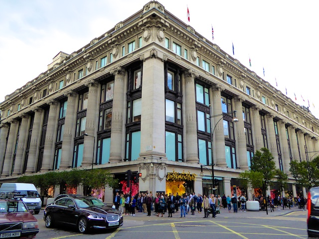 Selfridges Oxford Street, London