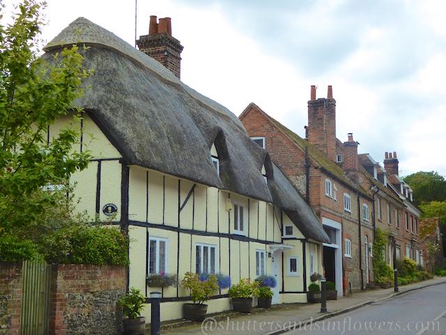 Street in Streatley ,Berkshire, England