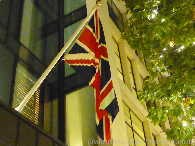 London, the British flag, the Union Jack