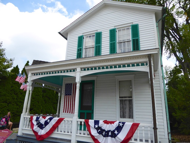 The Wright brothers' family home