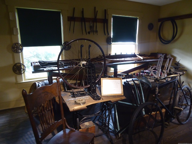 Wright brothers' workshop