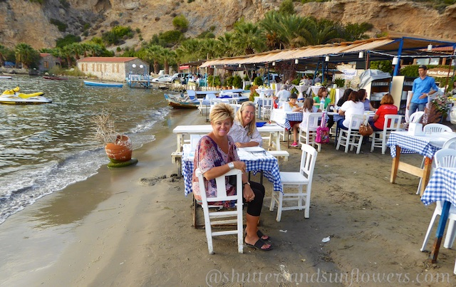 Dinner by the Mediterranean fish Restaurant Karina, Turkey