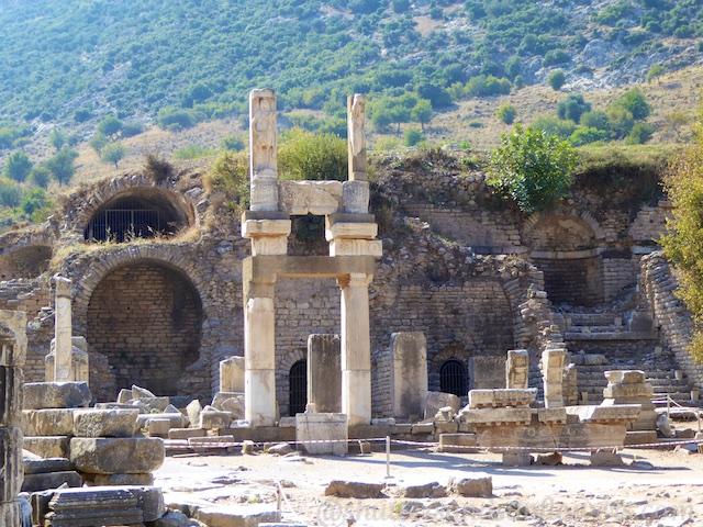 Hospital ruins in Ephesus