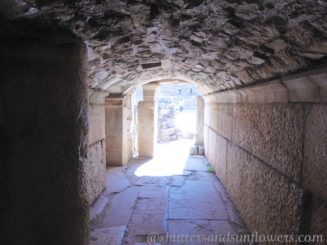 Below the Great Theatre of Ephesus, Turkey