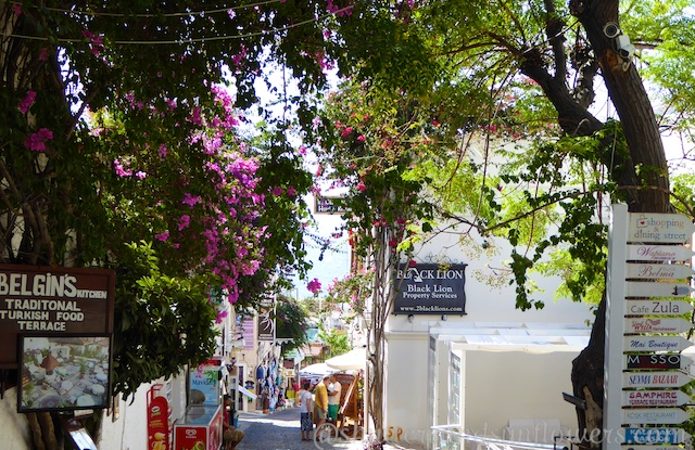 Streets of Kalkan, Turkey