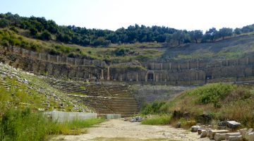Magnesia, the Roman Stadium near Selcuk Turkey