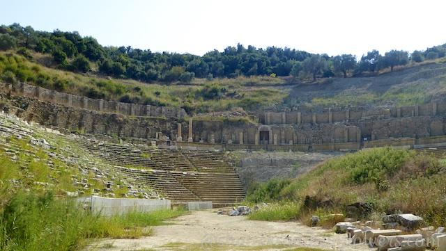 Roman Stadium in Magnesia,Turkey