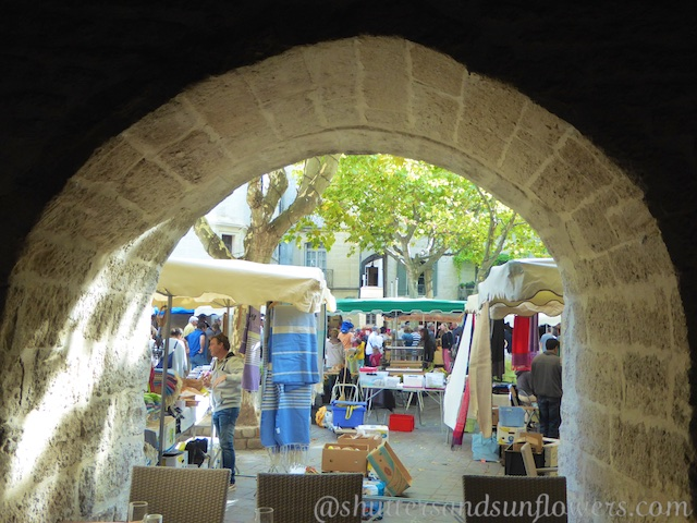 Markets in Provence, France