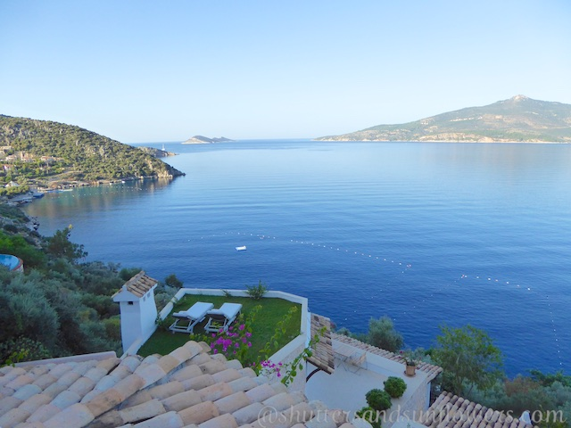View from Villa Mahal, Kalkan,Turkey
