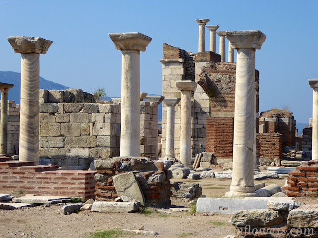 Ruins of the Basilica of St John, Seluck, near Ephesus,Turkey