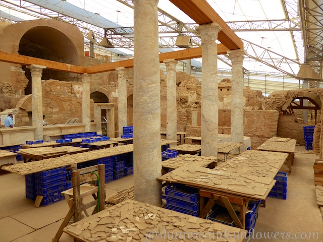 Excavations at Terrace Houses of Ephesus, Turkey