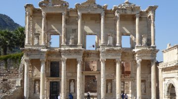 The Celsus Library of Ephesus, Turkey