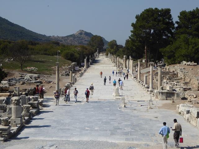 The Arcadiane of Ephesus, Turkey