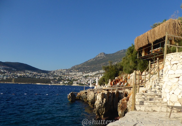 Views at at Villa Mahal, Kalkan,Turkey