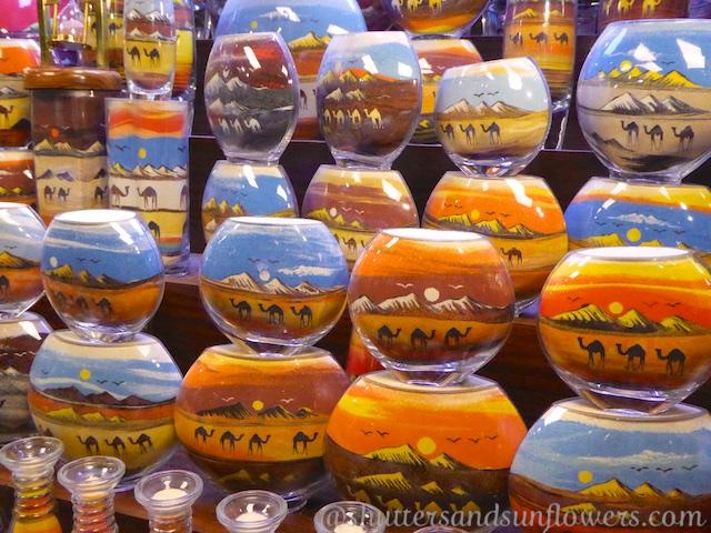 Local crafts in the Souk Madinat Jumeriah, Dubai