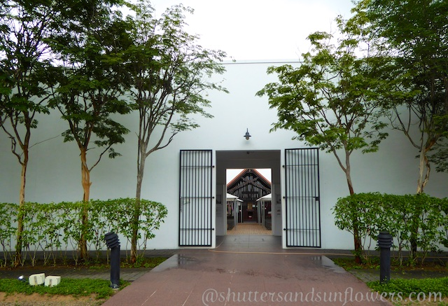 Entrance to Changi Museum and Chapel. Singapore