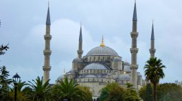 The Blue Mosque, Istanbul. Turkey