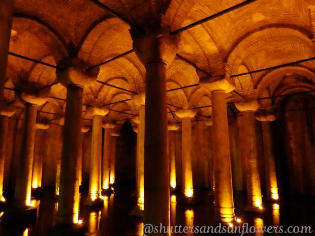 Yerebatan Cistern, Istabul, Turkey
