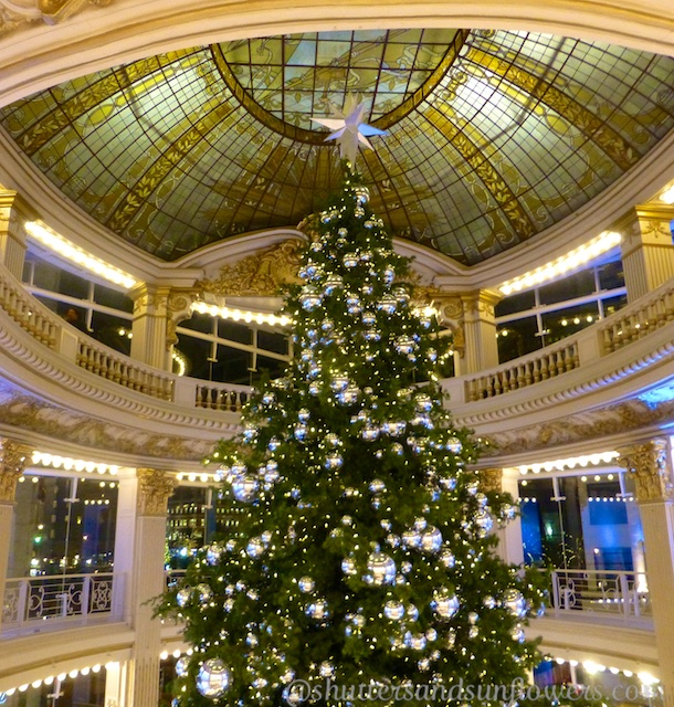 Christmas tree in Neiman Marcus, San Francisco, California