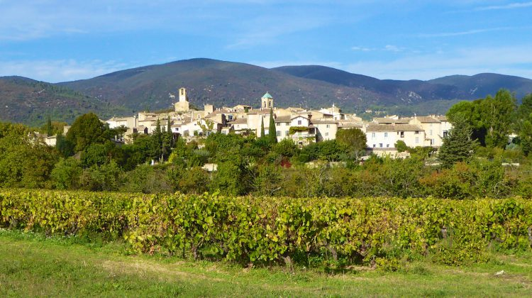 A view of Loumrarin, Luberon, Provence, France