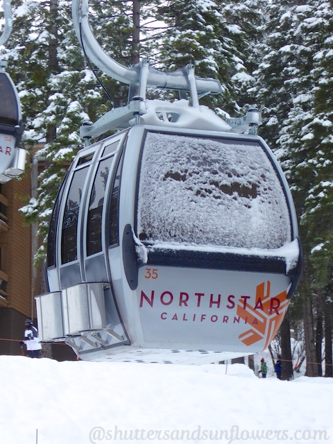 Gondola at Northstar, Lake Tahoe, California, USA