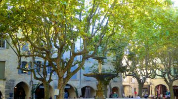 The Uzès Travel Guide, Place-aux-Herbes, Uzès