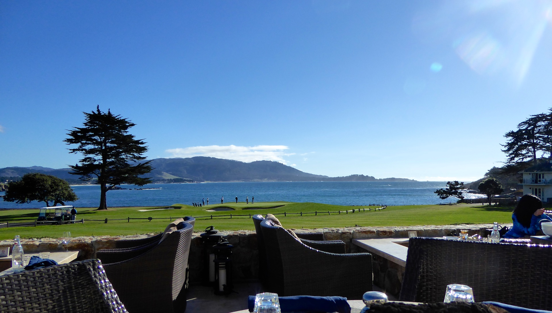 The Bench Restaurant, Pebble Beach, California