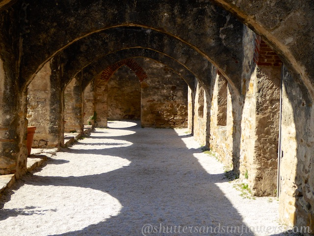Arches of The Missions of San Antonio,Texas