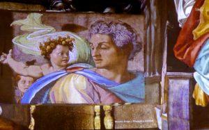 Michelangelo's Sistene Chapel at Les Carrières de Lumières, Provence