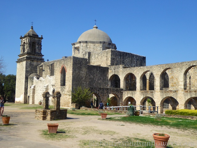 San Jose Mission, San Antonio,Texas