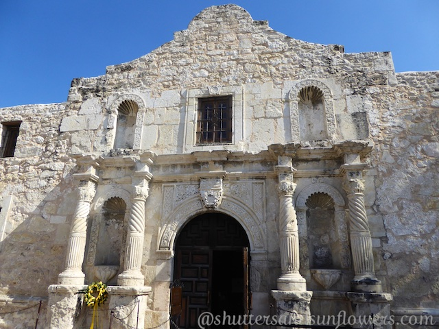 The church at the Alamo, San Antonio,Texas