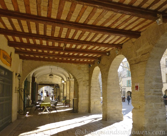 Arches of Place-aux-Herbes, Uzes