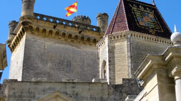 Ducal castle of Uzes, Languedoc Roussillon, France