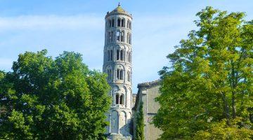 Fenestrelle Tower, Uzès ,Languedoc Rousillon,