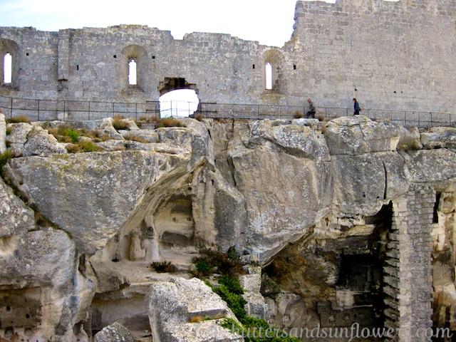 Chateau ruins at Le Baux-de-Provence