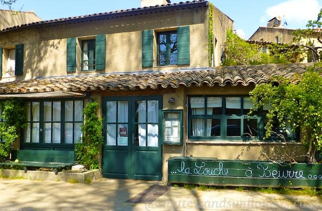 La Louche a Beurre Restaurant in Lourmarin, Luberon, Provence